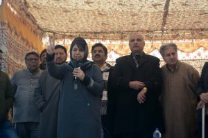 Proxies being fielded in Kashmir to scrap Articles 370 & 35A, says Mehbooba