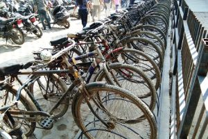 Delhi Metro allots space for bicycle parking at many stations