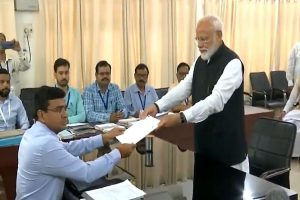 PM Modi files nomination from Varanasi; top NDA allies join in mega show of strength