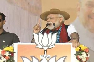 Congress manifesto corrupt, full of hypocrisy and lies: PM Modi in Arunachal Pradesh