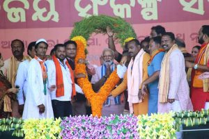 Discrimination on basis of region, caste only achievement of Cong, BJD: PM Modi in Odisha