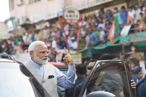 EC seeks report on PM Modi 'roadshow' after Congress alleges poll code violation