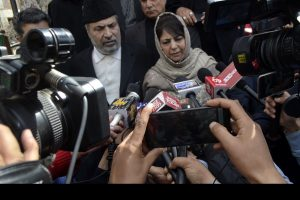 Mehbooba appreciates Kashmir-centric part of Congress' manifesto