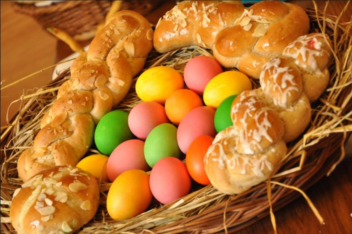 Easter recipes, Easter Sunday, Simnel Cake, Almond Rocks, Nutty Chocolate Eggs, Easter Buns