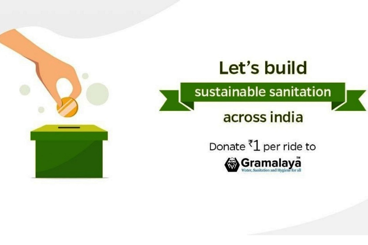 Ola and Gramalaya to build toilets for underprivileged across India