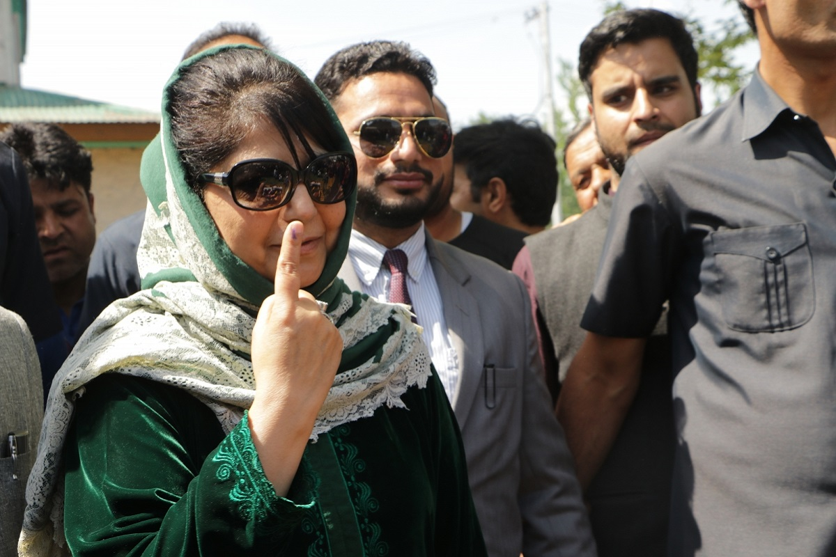 Mehbooba, Jammu, Anantnag, Mehbooba Mufti, Amarnath Shrine Board, Lok Sabha elections, Jammu and Kashmir