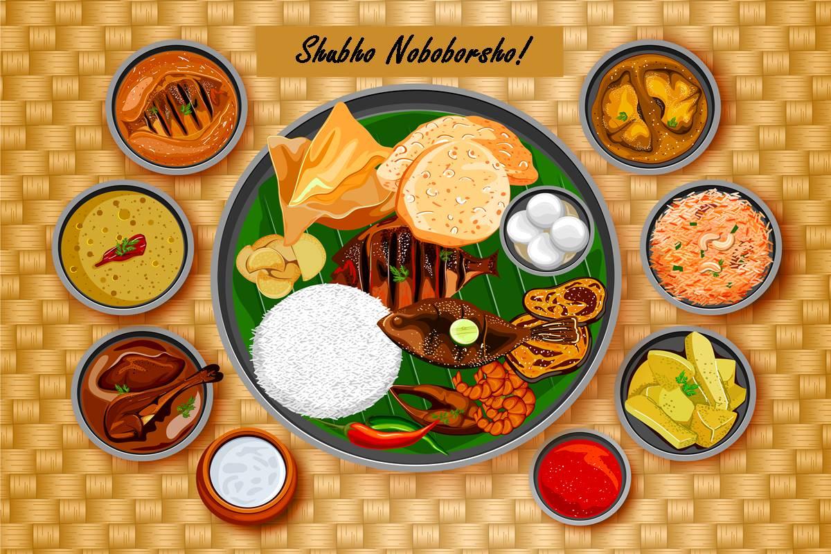 Poila Boishakh, Poila Baisakh, Shubho Noboborsho, Kalighat, Dakshineswar, Kolkata, Bengali New Year