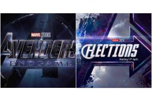 Govt of India portal on Twitter modifies Avengers: Endgame poster for 2019 LS polls message