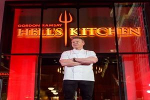 Chef Gordon Ramsay's newest London restaurant sparks row