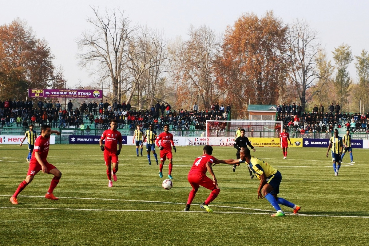 Real Kashmir, Srinagar, I-League, Snow Leopards, Mohun Bagan, All India Football Federation, AIFF, Jammu and Kashmir, Pulwama