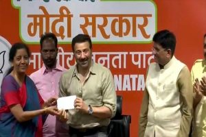 'Want PM Modi for the next five years': Actor Sunny Deol joins BJP