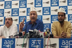 Congress-AAP flip-flop over alliance in Delhi, Haryana continues; Sisodia says 'waste of time'