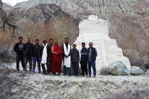 Buddhist stupas in Ladakh to be restored