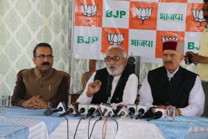 BJP tells Anil Sharma to quit from assembly too on moral grounds