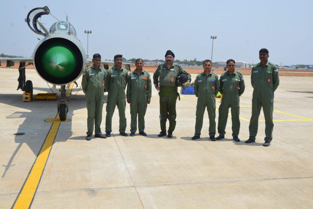 IAF chief, BS Dhanoa, MiG 21, Tamil Nadu