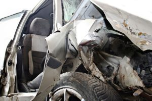Man killed, wife injured in car accident in Mandi