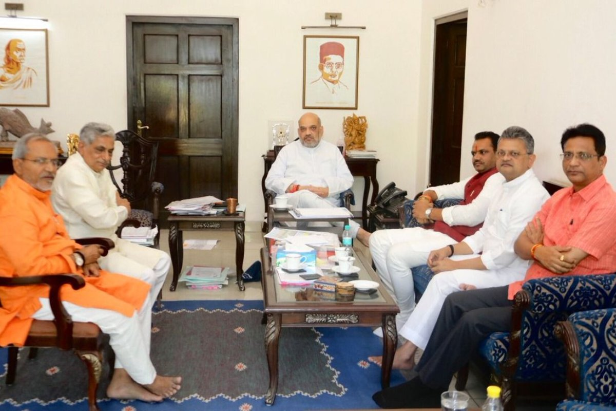 Amit Shah, Narendra Modi Cabinet, Gujarat BJP chief, Jitu Vaghani