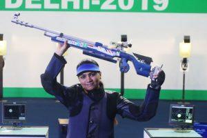 ISSF rankings: Apurvi Chandela becomes world no.1