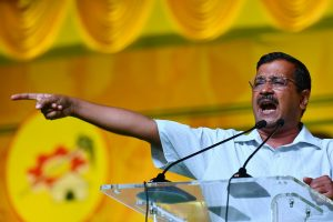 Vote for those who've done work, not those who spread hatred: Arvind Kejriwal