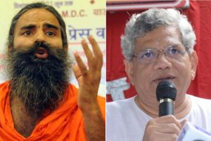Ramdev files FIR against Sitaram Yechury for calling Ramayana, Mahabharata violent