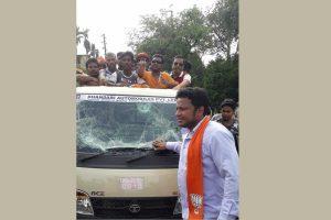BJP demands re-polling in violence-hit constituencies