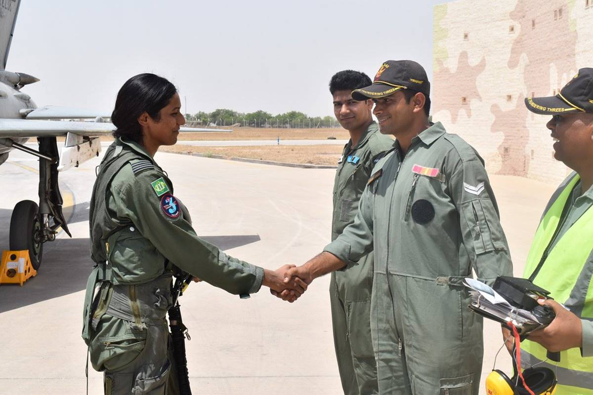 Flt Lt Bhawana Kanth, woman fighter pilot, IAF, Indian Air Force, Avani Chaturvedi, Mohana Singh, MiG-21 Bison, day operational syllabus