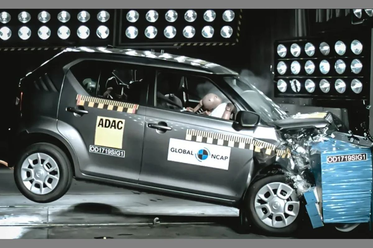 Global NCAP (New Car Assessment Programme) recently tested the India-made Ignis that is sold in South Africa. It scored a 3-star rating, which is better than the India-made Swift (third-gen) that scored two stars in the same test last year.