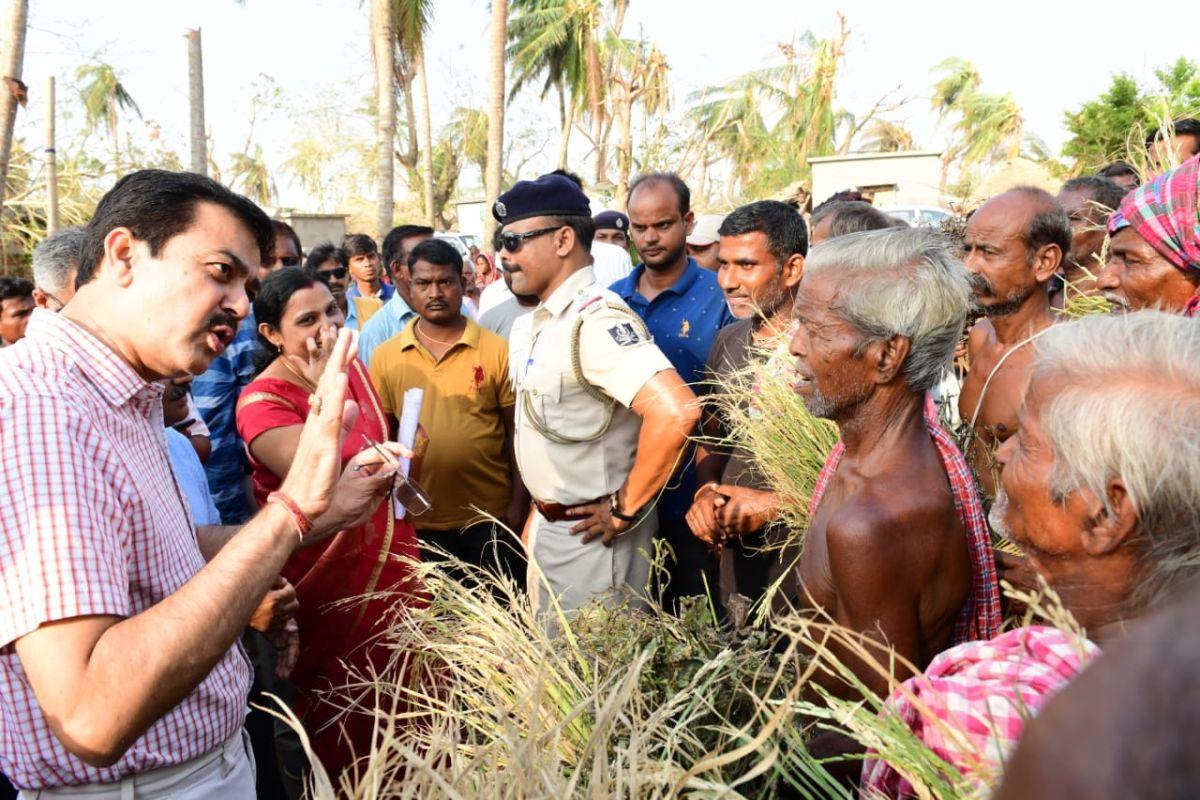 Fani damage assessment, damage assessment, Cyclone Fani, Odisha, Central team, AP Padhi, Puri