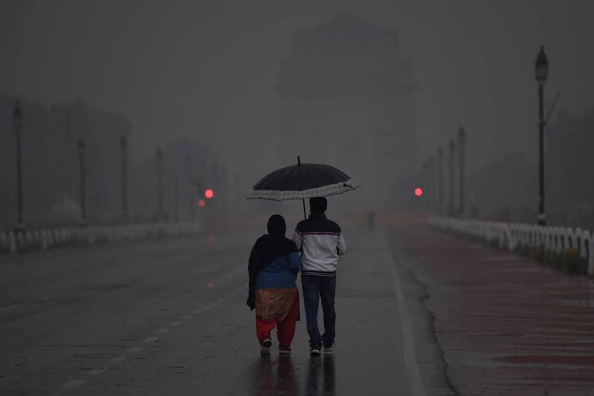 Western disturbance, Temperature, Delhi, Weather