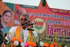 Mohua Moitra asked me to meet Debashree Roy: Dilip Ghosh