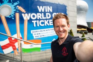 England captain Eoin Morgan expected to make World Cup opener after injury scare