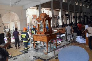 Catholics hold first Sunday mass in Colombo post-Easter attacks