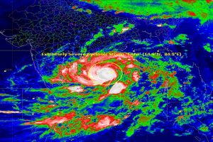 'Extremely severe' cyclone Fani heads to Odisha coast; armed forces on alert, 103 trains cancelled