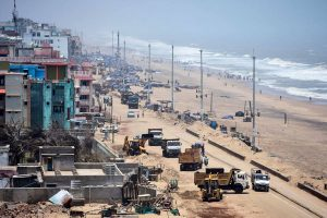 Fanilifespan was longest among tropical cyclones in Bay of Bengal