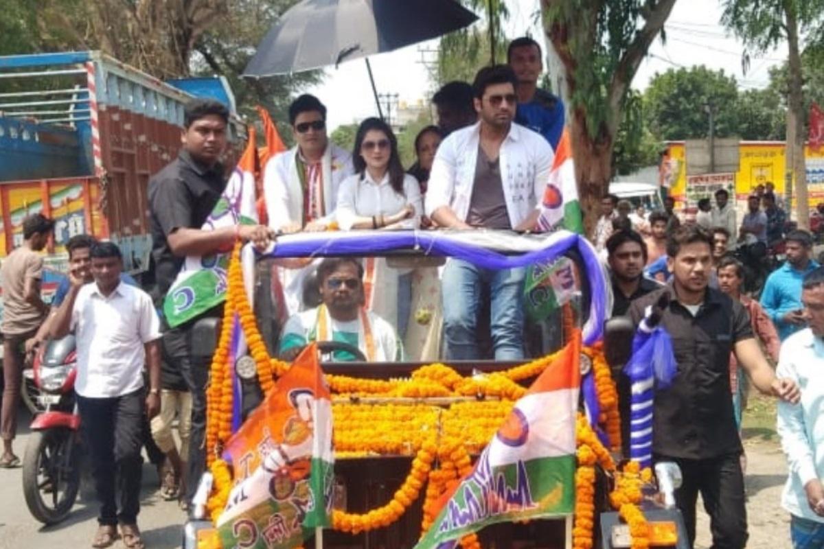 Who won from Dum Dum, Raiganj where Bangladeshi actors campaigned for TMC