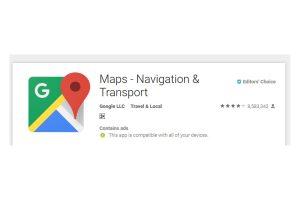 Google Map gets radar locations, speed limits