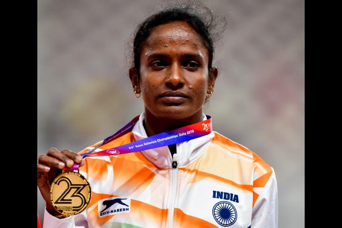Gomathi Marimuthu, Athlete, womens 800m, Asian Championships