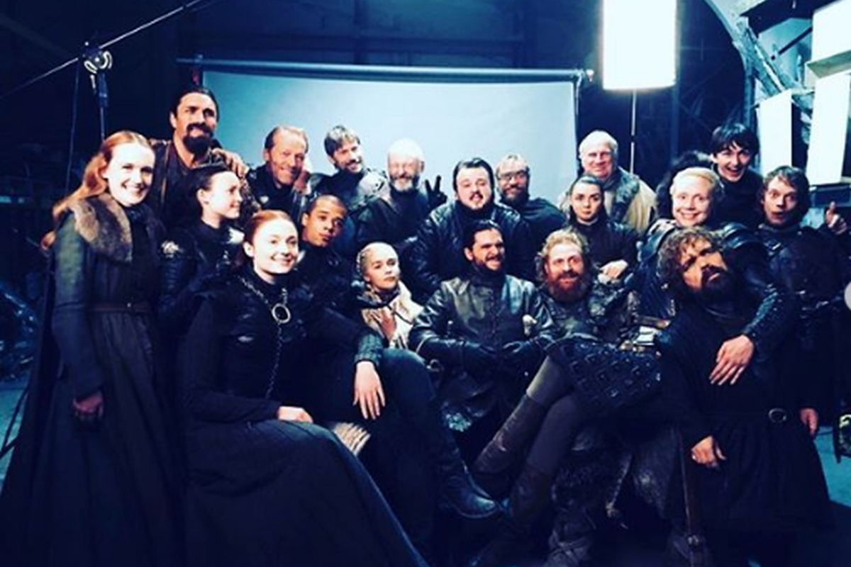 Game of Thrones, Emilia Clarke, season's finale, Daenerys Targaryen, Breaker of Chains, Mother of Dragons, George R.R. Martin, A Song of Ice and Fire, Sophie Turner, Sansa Stark, Grey Worm,Jacob Anderson,Season 8