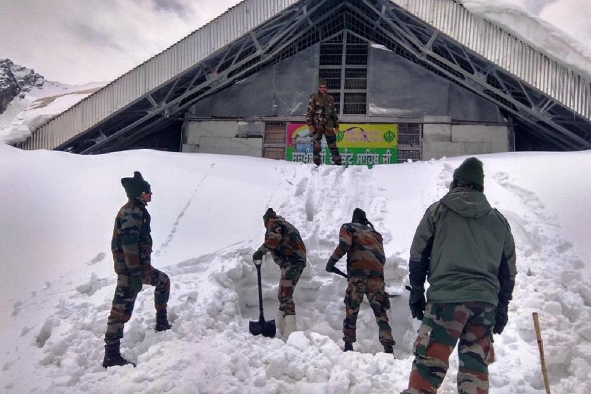 Gurudwara Shri Hemkund Sahib Ji, Chamoli, Uttarakhand, Indian Army, Surya Bengal Sappers, Guru Gobind Singh Ji, Kedarnath, Rudraprayag