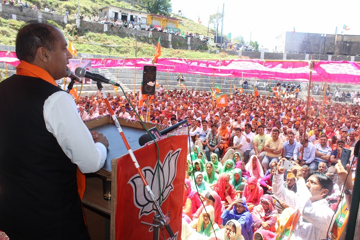 In Himachal, BJP banks on Modi, its ruling status in state