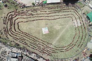 Mega Naati record: Over 5000 Himachal women dance for voter awareness