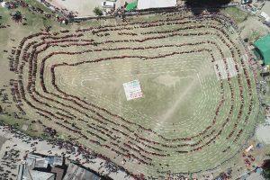 Mega Naati record: Over 5000 Himachal women dance for voter awareness