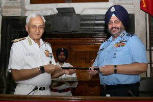 CAS BS Dhanoa takes over Baton of Chairman of COSC