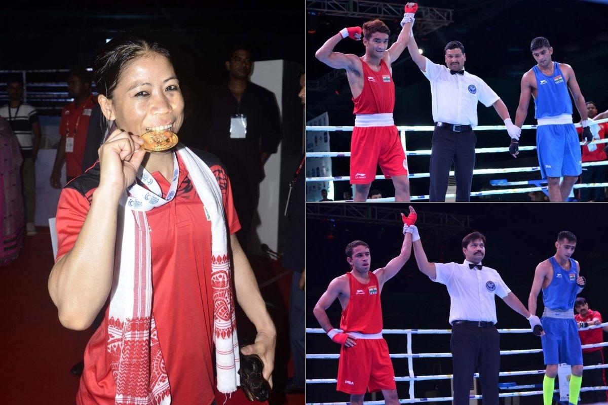 India Open, Mary Kom, Shiva Thapa, Amit Panghal