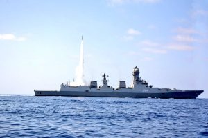 Indian Navy increases combat ability with successful test of MRSAM