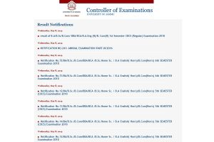 Jammu University declares 1st, 5th, 6th Semester, CBCS (Regular) results 2018 for BA, B.Sc, B.Com, BBA, BCA and other courses at coeju.com