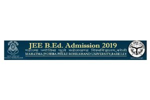 MJPRU University: UP BEd JEE Results 2019 declared at upbed2019.in