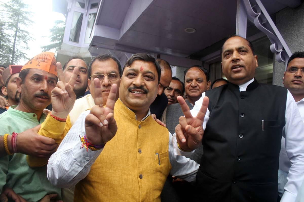 BJP graph, Himachal Lok Sabha elections, Jai Ram Thakur, Shimla, Kangra, Kishan Kapoor, Anurag Thakur, Hamirpur, Mandi, Sukh Ram, Ashray Sharma, Ram Swaroop Sharma