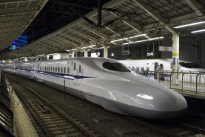 Japan tests world's fastest bullet train