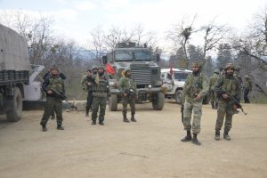 Security forces gun down three Hizbul terrorists in Pulwama